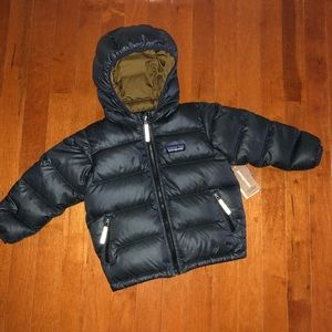New! PATAGONIA boys down winter jacket